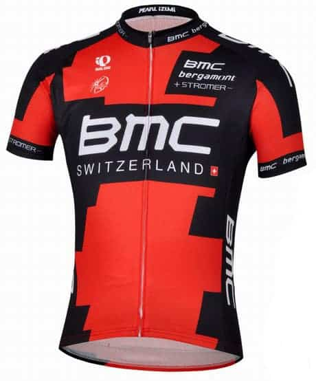 Maillot BMC Racing 2013
