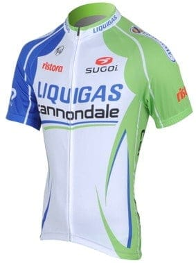 Maillot Cannondale-Liquigas 2012