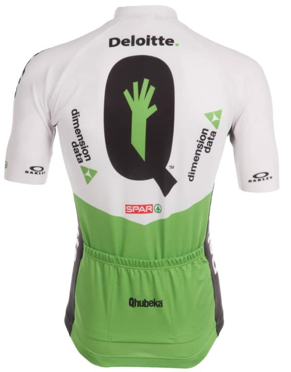 Maillot Team Dimension Data 2018 dos