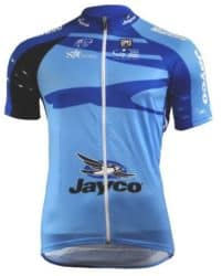 Maillot bleu Tour Down Under 2010