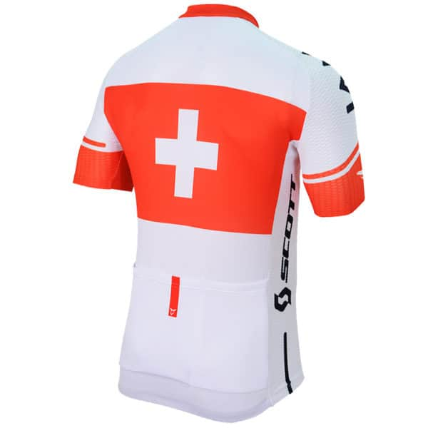 Maillot Champion Suisse 2016 dos