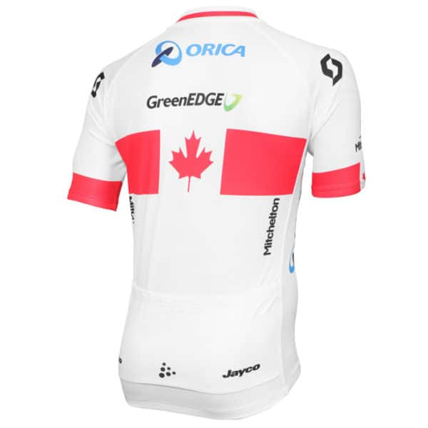 Maillot Champion Canada 2014 dos