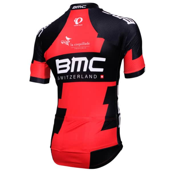 Maillot BMC Racing Team 2016 dos