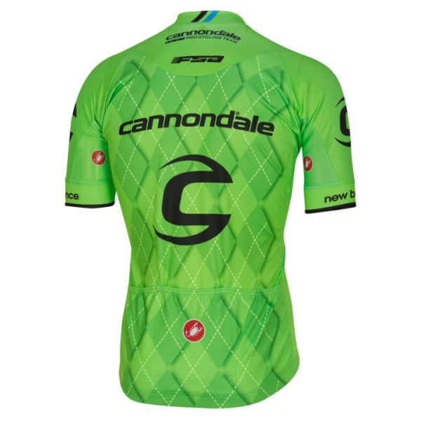 Maillot Cannondale 2016 dos