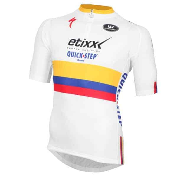 Maillot Champion Colombien CLM 2015