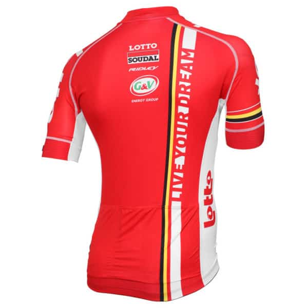Maillot Lotto-Soudal 2015 dos