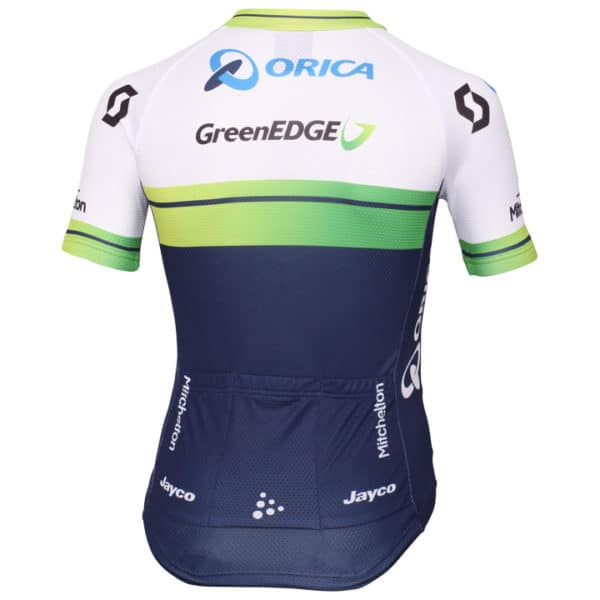 Maillot Orica-GreenEdge 2015 dos