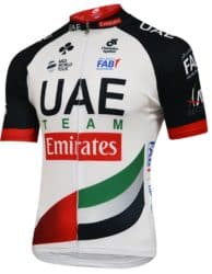 Maillot UAE Emirates 2018