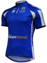 Maillot bleu Tour Down Under 2014