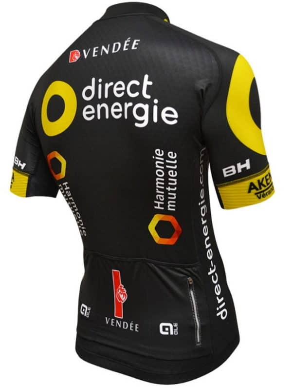 Maillot Direct Energie 2016 dos