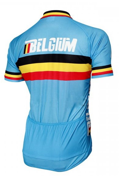 Maillot équipe belge 2015 dos
