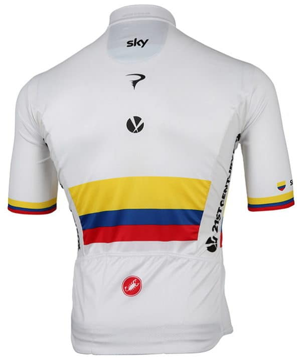 Maillot Champion Colombie 2017 dos