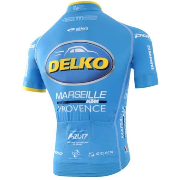 Maillot Delko-Marseille Provence-KTM 2017 dos