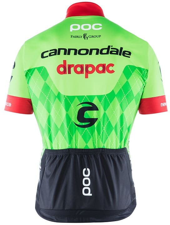Maillot Cannondale-Drapac 2017 dos
