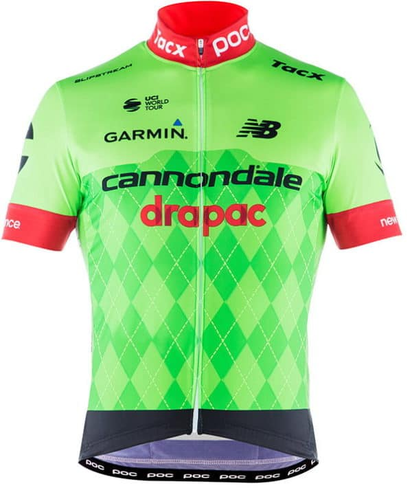 Maillot Cannondale-Drapac 2017