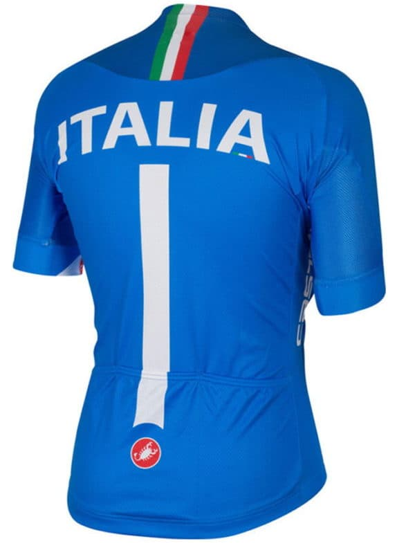 Maillot équipe italienne 2014 dos