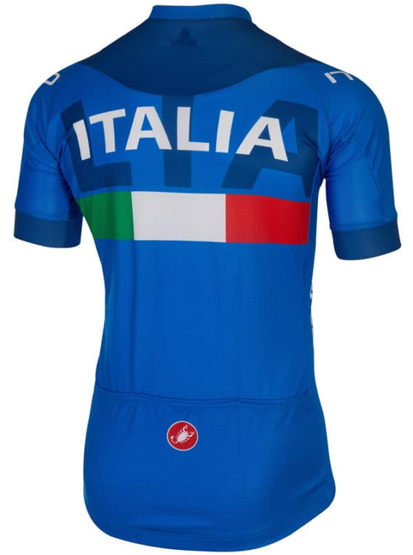 Maillot équipe italienne 2015 dos