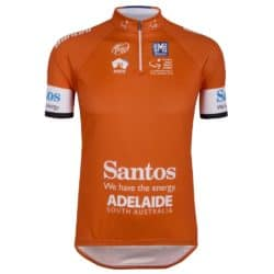 Maillot ocre Tour Down Under 2015