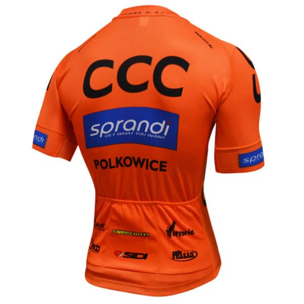 Maillot CCC Sprandi Polkowice 2017 dos