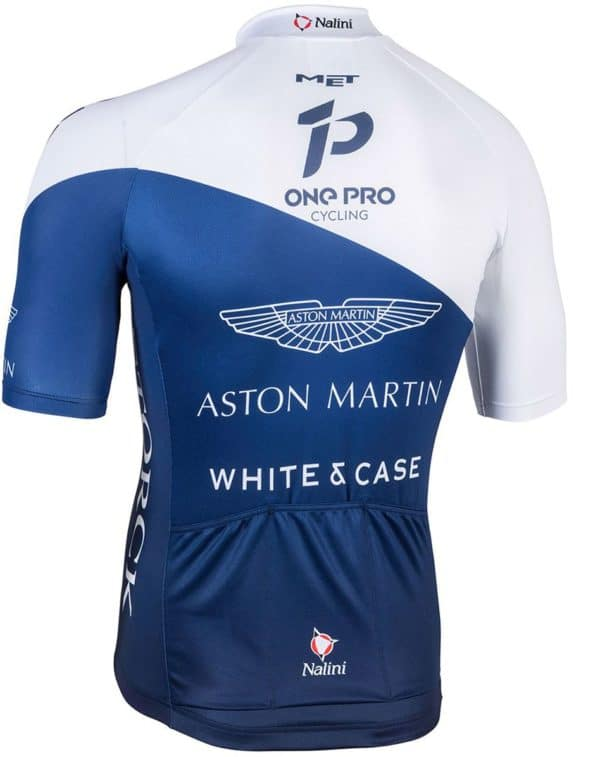 Maillot One Pro Cycling 2018 dos
