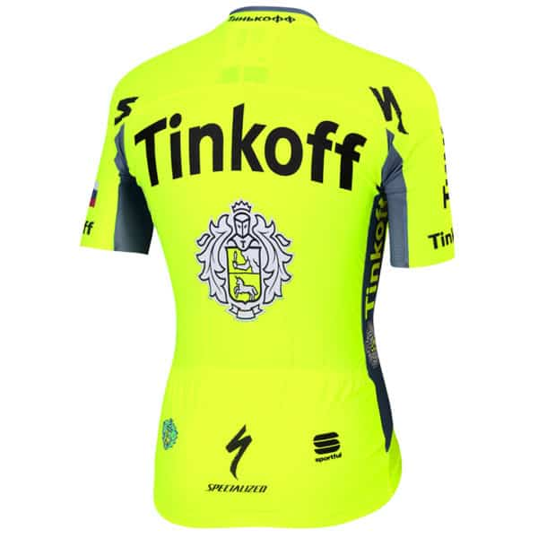 Maillot Tinkoff 2016 dos