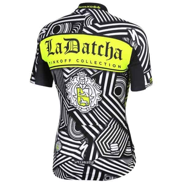 Maillot entrainement Tinkoff 2016 dos
