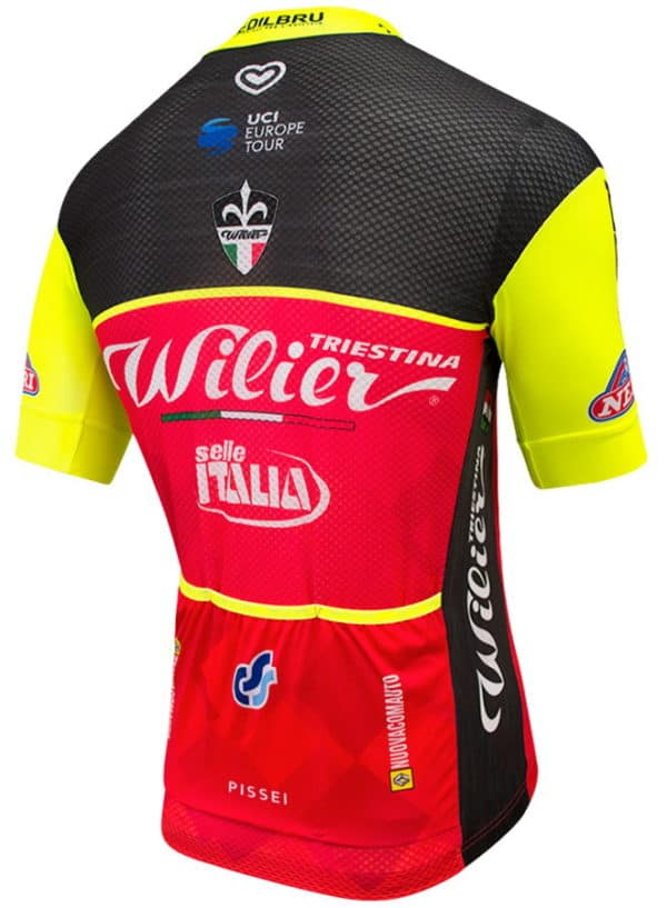 Maillot Wilier Triestina-Selle Italia 2017 dos