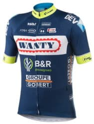 Maillot Wanty-Groupe Gobert 2017