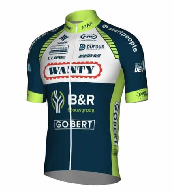 Maillot Wanty-Groupe Gobert 2018