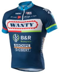 Maillot Wanty-Groupe Gobert 2016
