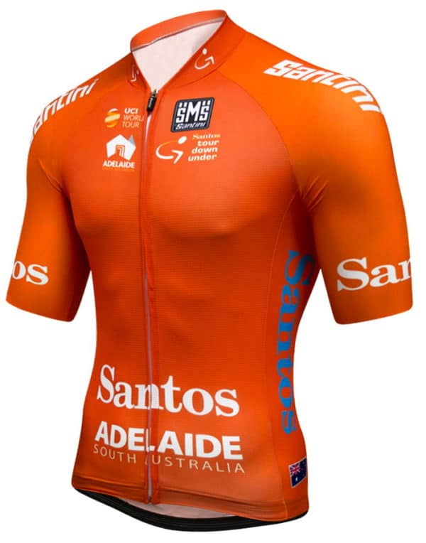Maillot ocre Tour Down Under 2017