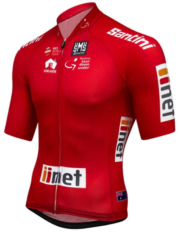 Maillot rouge Tour Down Under 2017