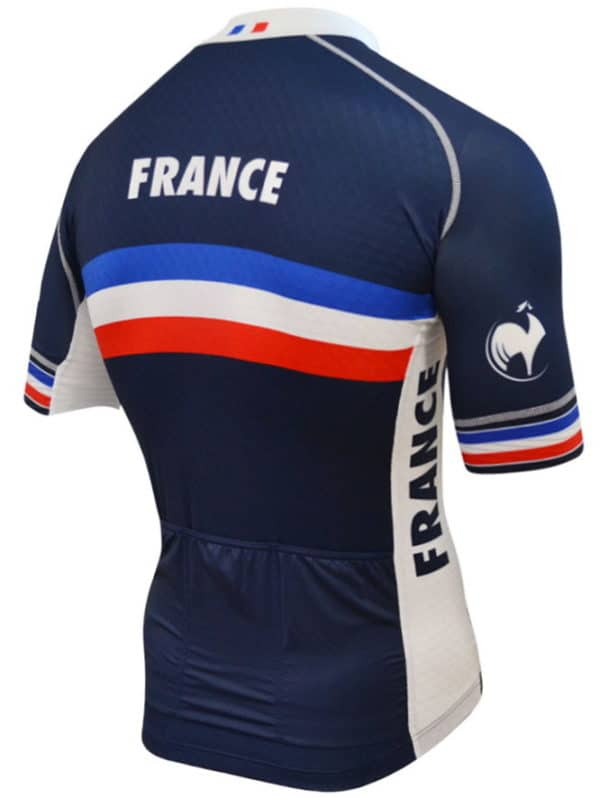 Maillot équipe France 2016 dos