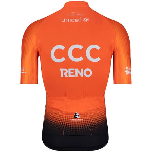 Maillot CCC 2019 dos