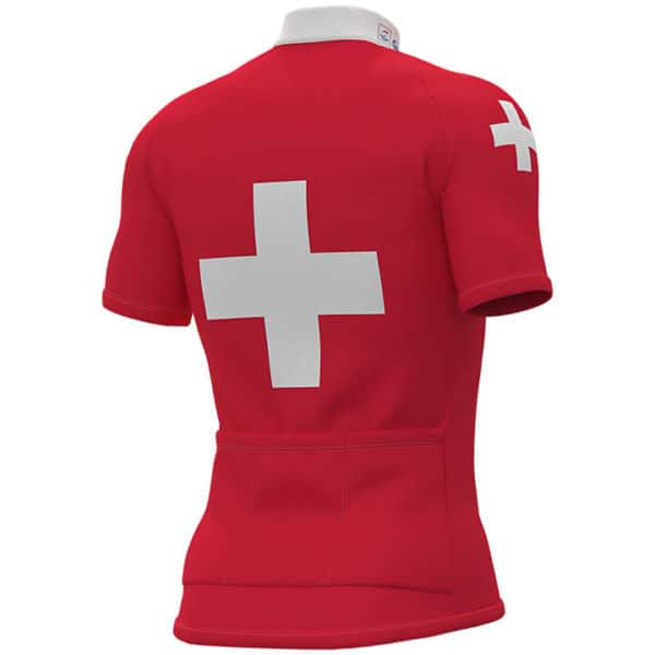 Maillot Champion Suisse 2019 dos