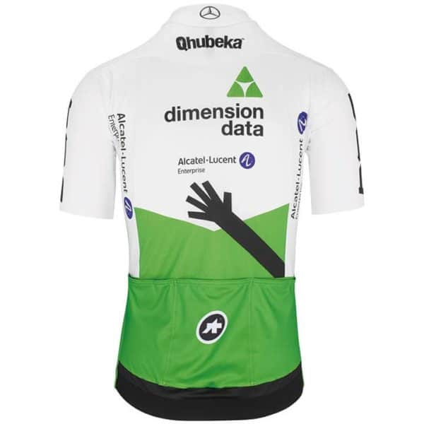 Maillot Dimension Data 2019 dos