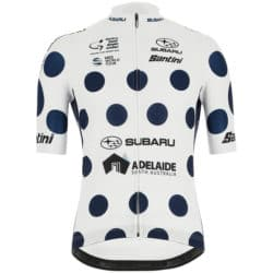 Maillot à pois Tour Down Under 2019